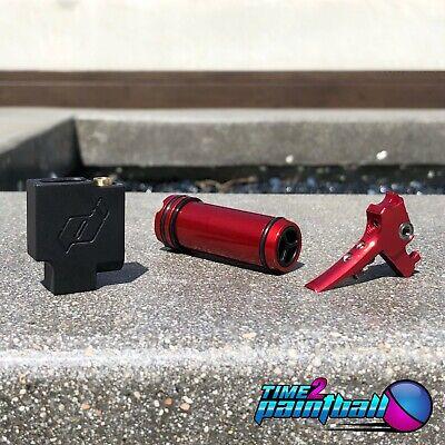 Eclipse EMEK MG 100 MAXX Upgrade Valve Switch / Soft Bolt Tip / Fang Trigger RED