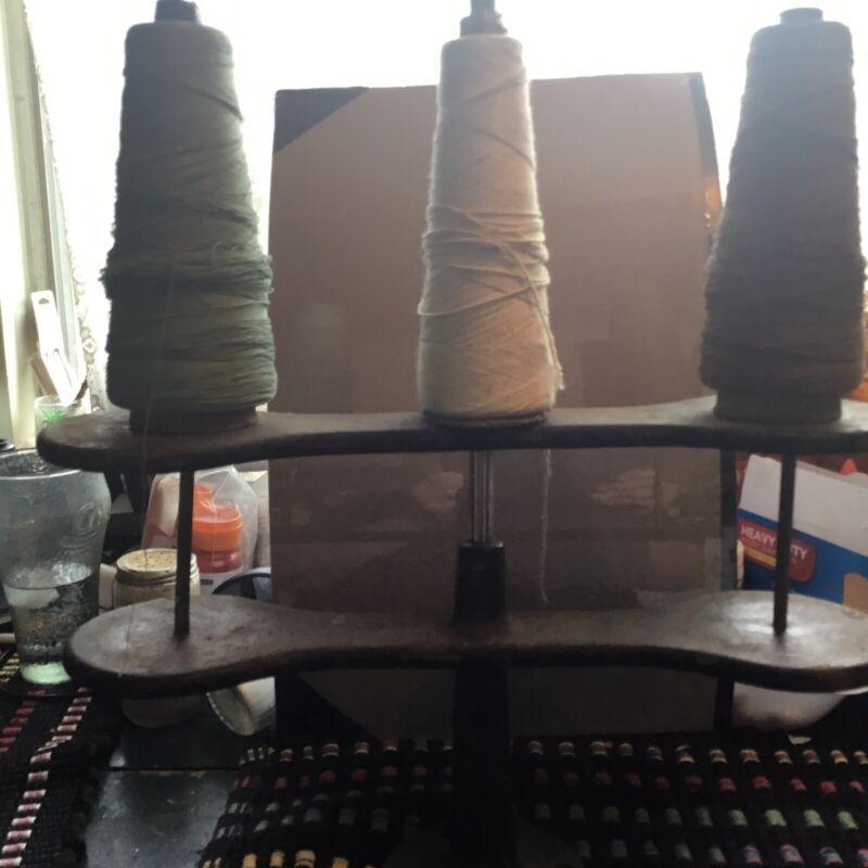 Antique Sewing Machine Display- Thread