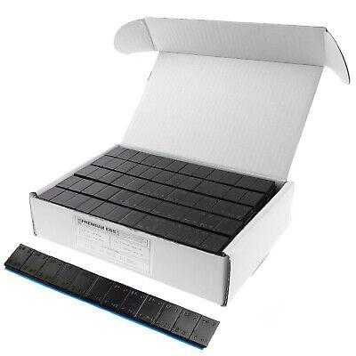3 KG Klebegewichte Schwarz Abrisskante 12x5g Auswuchtgewicht 50 St. Black