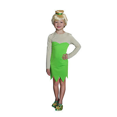 Girls Tinkerbell Green Fairy Pixie Costume Classic Halloween Toddler Child 3T-XL