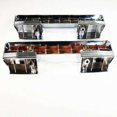 1961-1967 Buick Front Arm Rest Base | Chrome Plated Pair LeSabre Invicta Special 66 Armrest Base