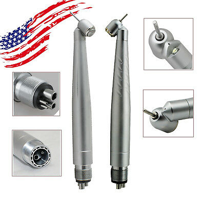 Fda Dental 45degree Led Handpiece High Speed Push Turbine New Style 24 Hole