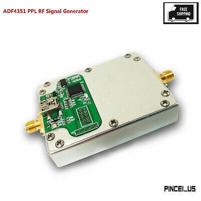Adf4351 Pll Rf Signal Generator Finished 35mhz-4.4ghz W Mcu Control Cavity Pe66