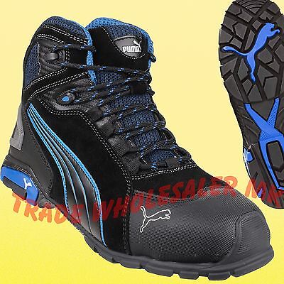 Puma Rio Industrial Mens S3 SRC Safety Midsole & Toe Cap Trainers Boots