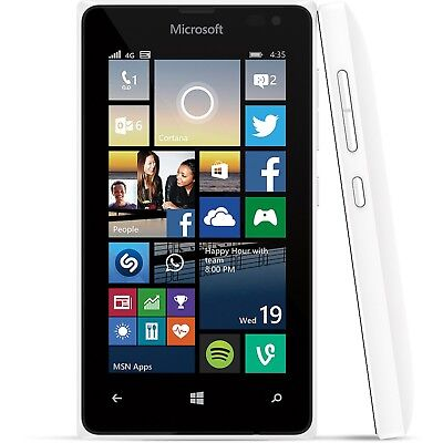 New INBOX Nokia Lumia 530 - 4GB WHITE GLOBAL GSM Unlocked Smartphone