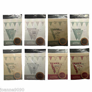 East Of India Make Your Own Paper Bunting Kit Vintage