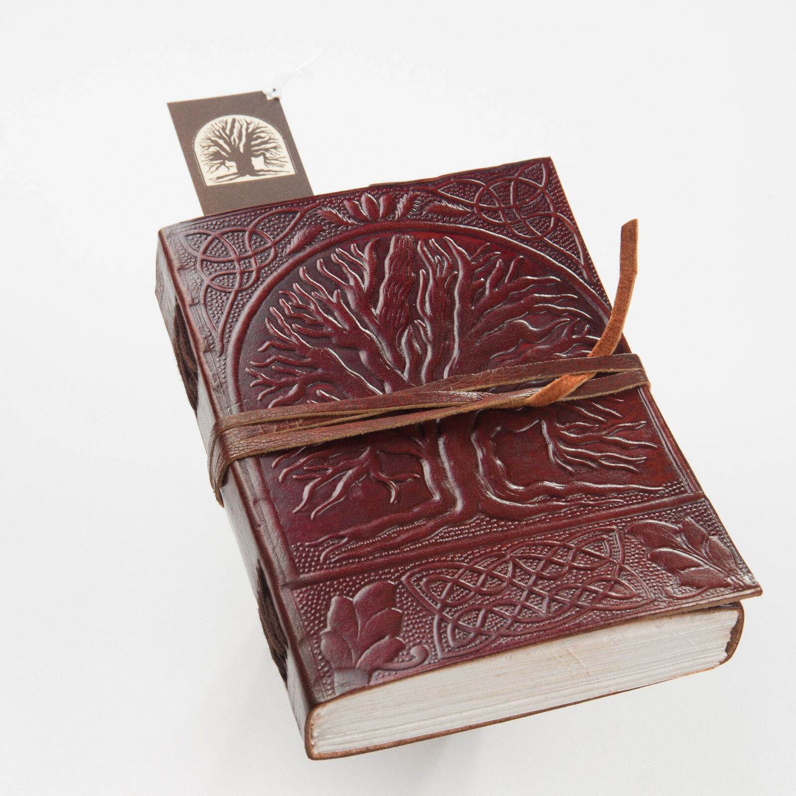 Tree of Life Leather Handmade Journal Diary Blank Book Notebook Writing JOURNAL 3