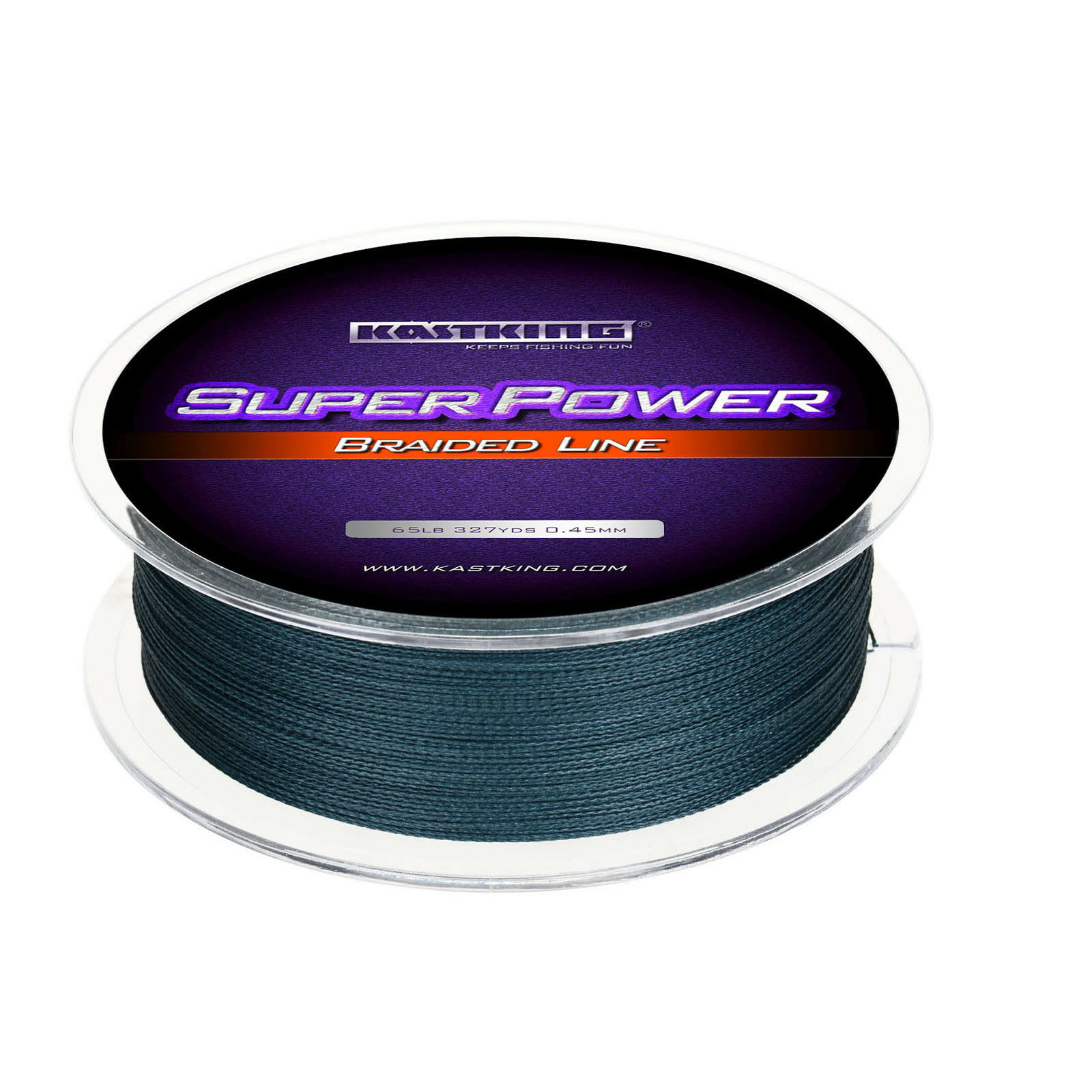 KASTKING SUPERPOWER BRAIDED FISHING LINE – INCREDIBLE SUPERLINE Gray