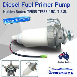 Diesel Fuel Primer Pump Assembly fit Rodeo TFR55 TFS55 4JB1-T 2.8L 1990-2002