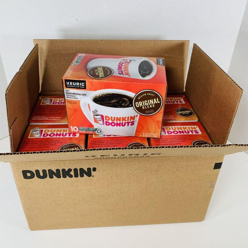 60 Count Keurig K-Cup Dunkin