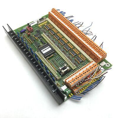 Komax B709c Dz Io Alpha Board For Alpha 411 Wire Crimper Stripper Machine