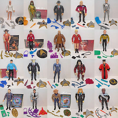 - Star Trek Action Figures - YOUR CHOICE - Playmates DS9 Voyager STNG Generation