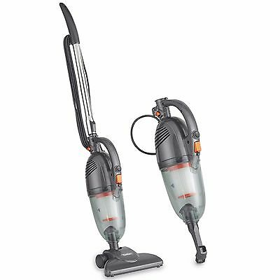 VonHaus Stick Vacuum Cleaner 1000W – 2 in 1 Upright & Handheld Vac - Grey