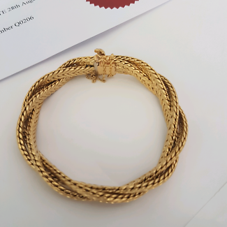Wanted: 18crt gold antique bracelet