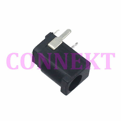 10pcs Dc Power 3.5x1.35mm Female Jack Socket Panel Mount 3pin