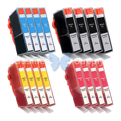 16 Pk 564xl 564xl Generic W/chip High Yield + Ink Level 5...