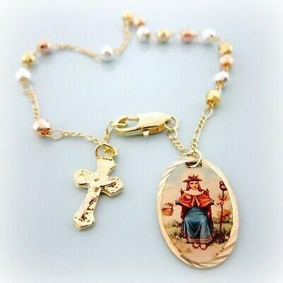 Baby Rosary Bracelet (Rosario Santo Nino de Atocha Pulsera. Rosary Bracelet Holy Child of)