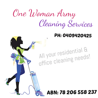 One Woman Army Cleaning Services