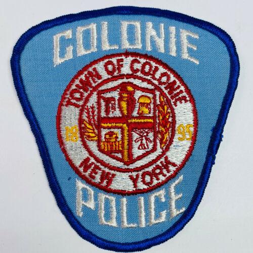 Colonie Police New York NY Patch (A5)