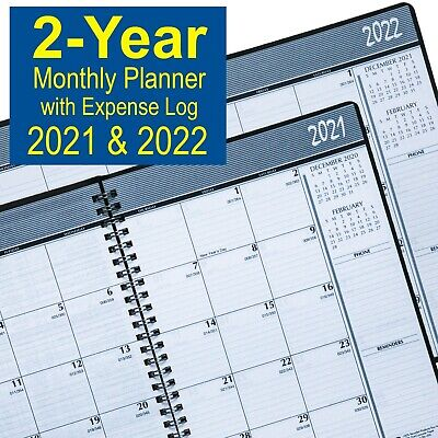 2021 2022 House Of Doolittle 2680-02 2-year Monthly Planner 6-78 X 8-34