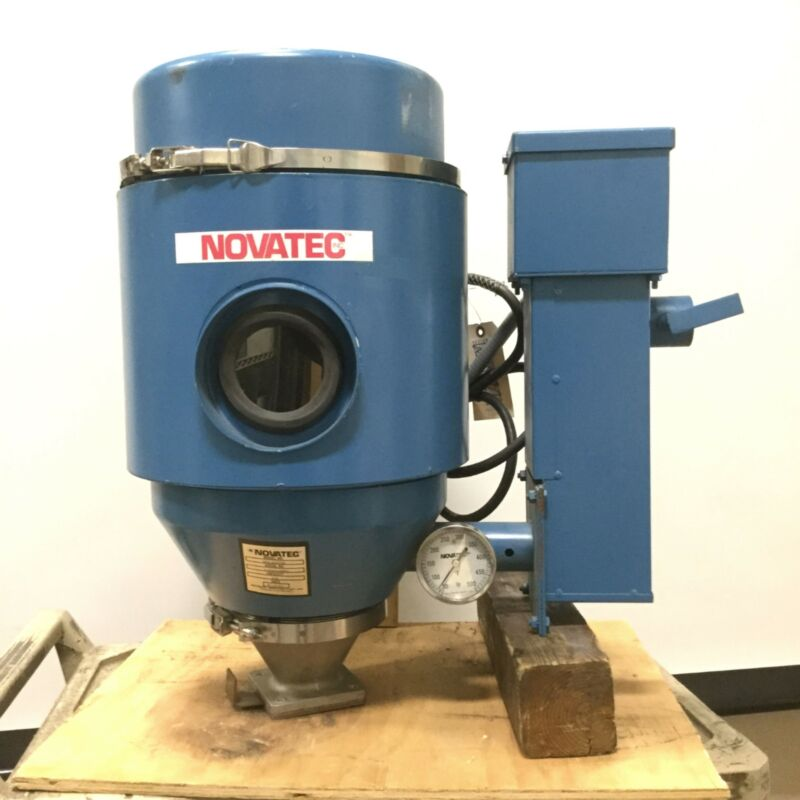 Novatec MPH-HOPPER Desiccant Plastic Resin Material Dryer Hopper, 30lb Capacity