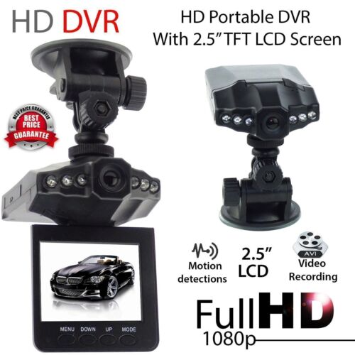 "Dual Lens 4"" 1080P Car Dashboard DVR Video Recorder Dash Cam"