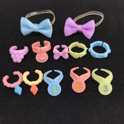 Littlest Pet Shop Accessories Clothes 4pcs Random Bowknot Collar For LPS Cat Dog
