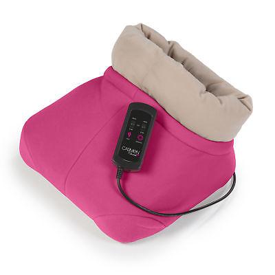 Carmen Electric Shiatsu Foot Feet Warmer Massager Comfy Kneading Comfort Massage
