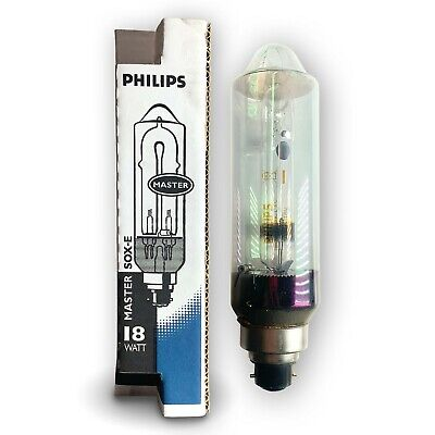 CASE OF 12 50 WATT HIGH PRESSURE SODIUM LAMPS LU50//MED C50S68  HPS PHILIPS