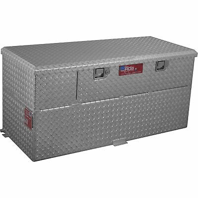 Rds Aluminum Transfer Fuel Tank Toolbox Combo With 12v Fuel Transfer Pump -