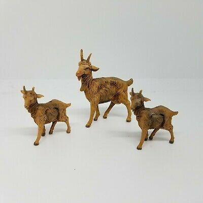 Depose Italy Goats Nativity Set 2 Small goats 1 Big Goat
