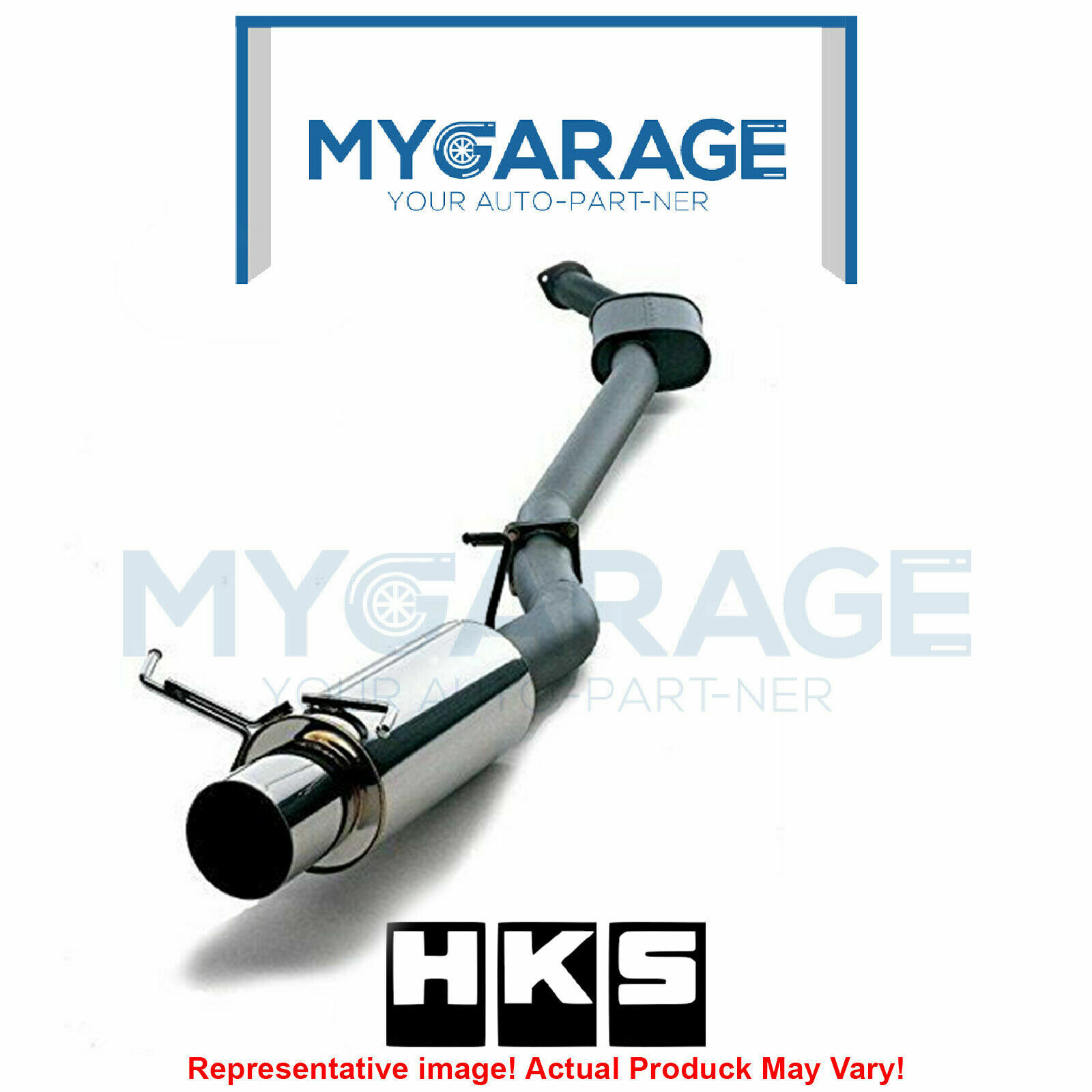 HKS 3203-EX008 Hi-Power Exhaust System For 92-93 Acura