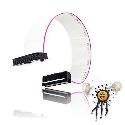 Flachbandkabel / Ribbon Cable 20 polig / core FC20P IDC Buchse / Socket 200 mm