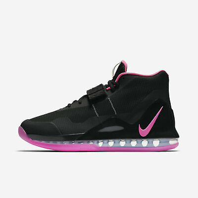 Nike Air Force Max AR0974-004 Black Pink Blast Men's Basketball Shoes NEW!