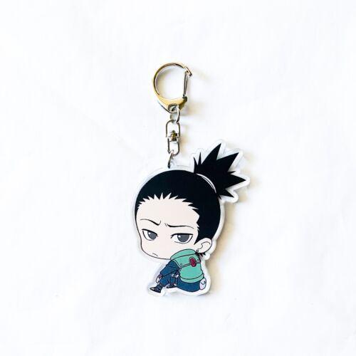 Anime Naruto Acrylic Shikamaru Nara Keychain