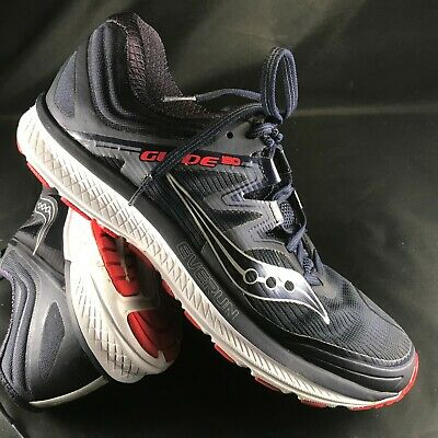 Men's Saucony Guide ISO 2 Running Shoes size 10 US, 9 UK, 44 (Sizing Guide Uk)