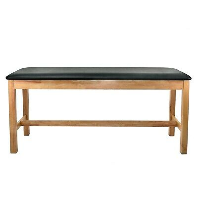 Adirmed Wooden Treatment Table 30 In. Adjustable Medical Exam Table