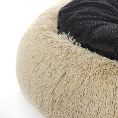 Fur Pet Donut Cuddler Super Plush Dog & Cat Beds Machine Wash & Dryer Friendly Beds