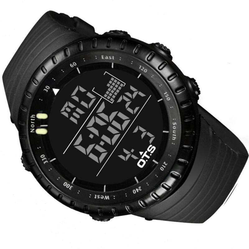 Men Military Army Sport Wrist...