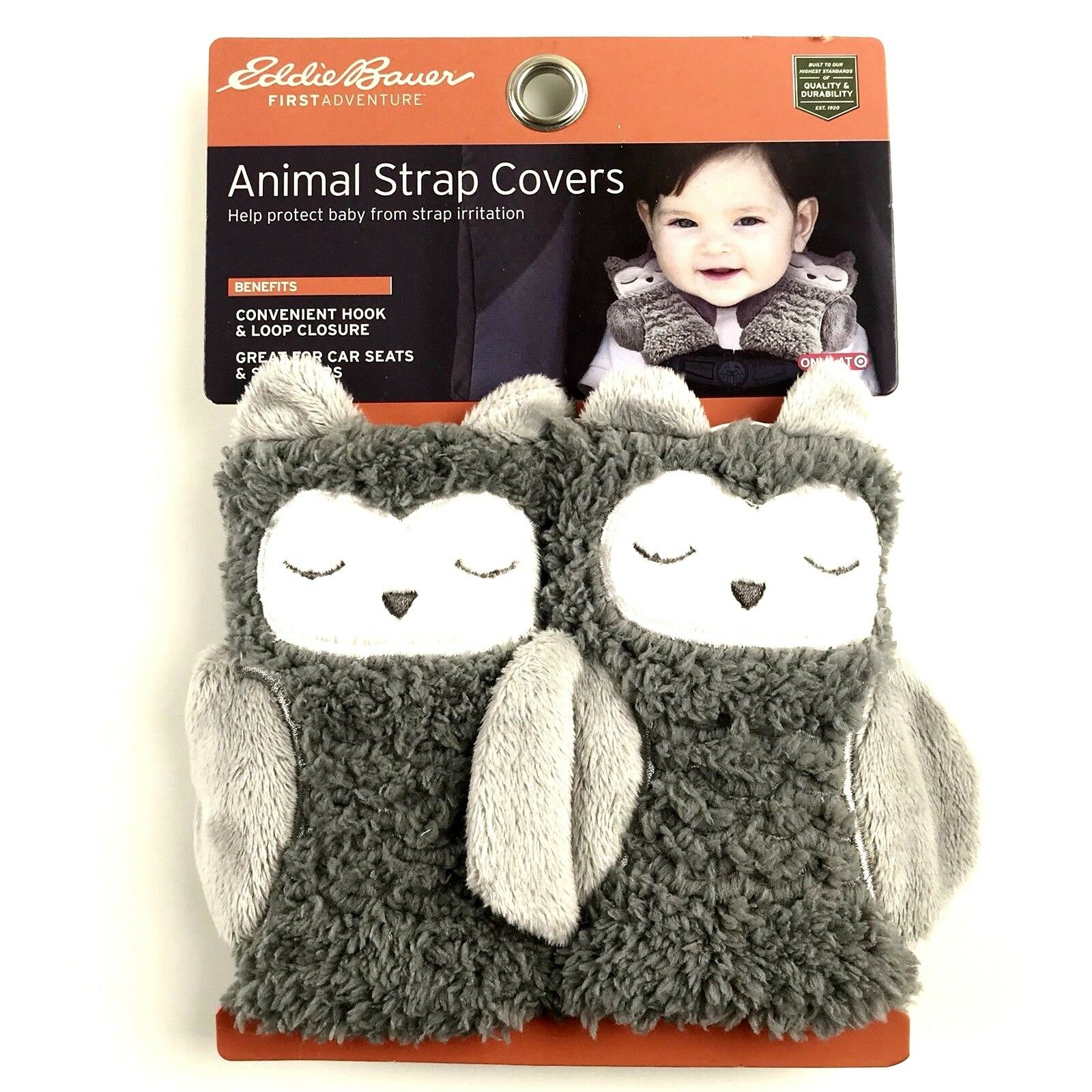 Eddie Bauer® Animal Strap Covers - Owl