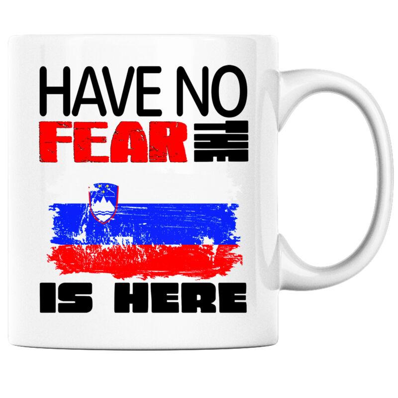 Have No Fear the Slovenian; Slovene is Here Funny Coffee Mug Slovenia Heritage