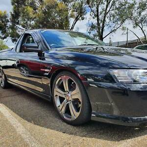 2005 Holden Commodore  4 Sp Automatic Utility