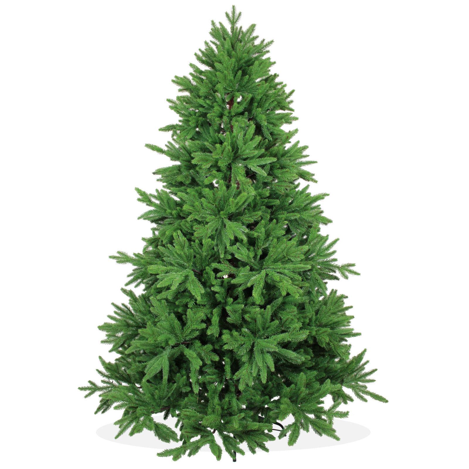 Christmas Tree Nordmann Fir: Artificial Christmas Fir Tree DeLuxe 7ft 213 210cm