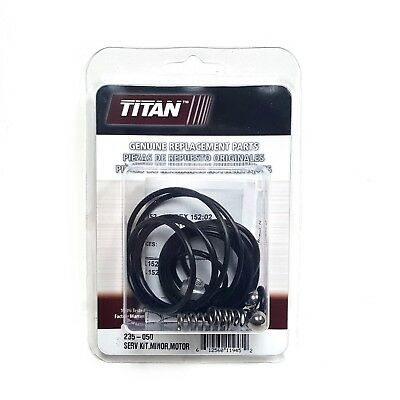 Titan Speeflo 235-050 Hydraulic Minor Motor Repair Kit 4900xlt 6900 8900