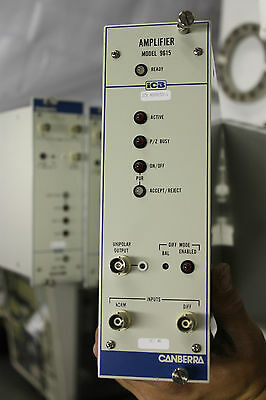 Canberra Icb 9615 Amplifier Nim Bin Module