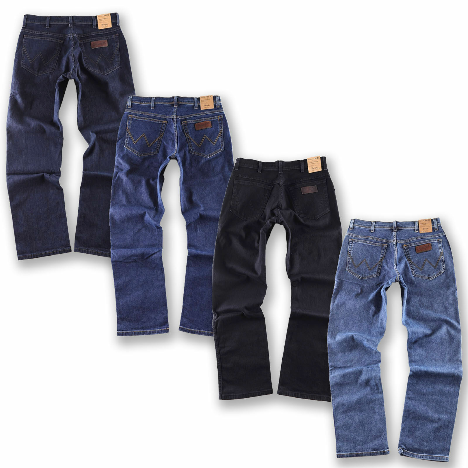 WRANGLER ORIGINAL Jeans Herrenjeans Hose Texas Stretch in 4 Farben wählbar NEU