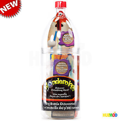 Science Experiment Kit (NEW Wonderology Science Kit Big Bottle Discoveries 30-Fun Experiments!)