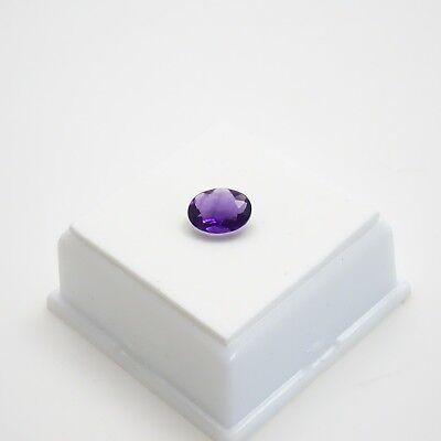 Gorgeous Violet Fluorite 1.60ct+ Oval - 9x7mm - Violet Fluorite Loose Gemstone