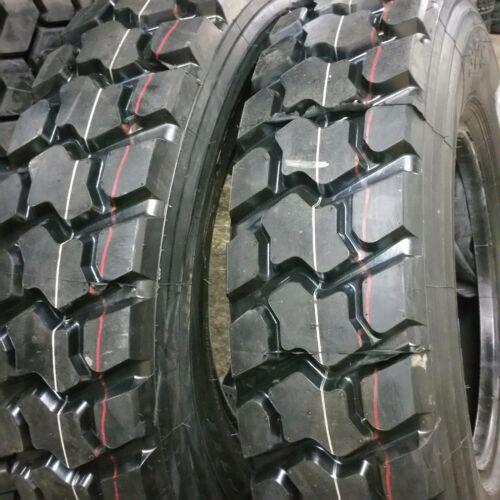 2-tires 1200r20 Road Crew 18 Ply 154/151 Premium Quality Drive Tires 12.00r20