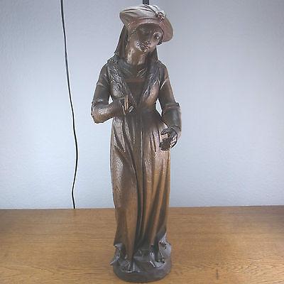 schöne alte Figur Frau Holz ca. um 1880